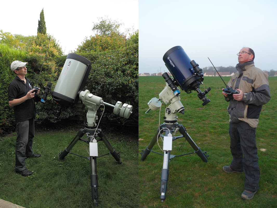 Thierry Legault Satellite Tracking Telescope